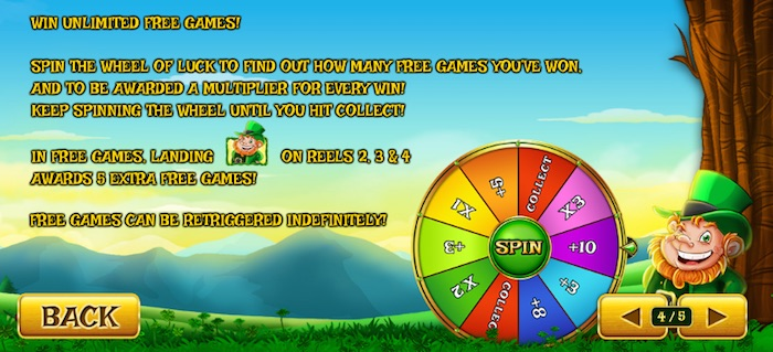 Lucky Spins Free Games Bonus Wheel in Land of Gold