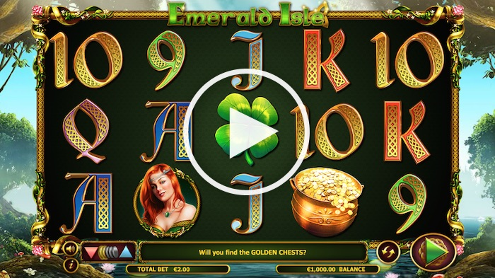 Screenshot Emerald Isle Online Slot