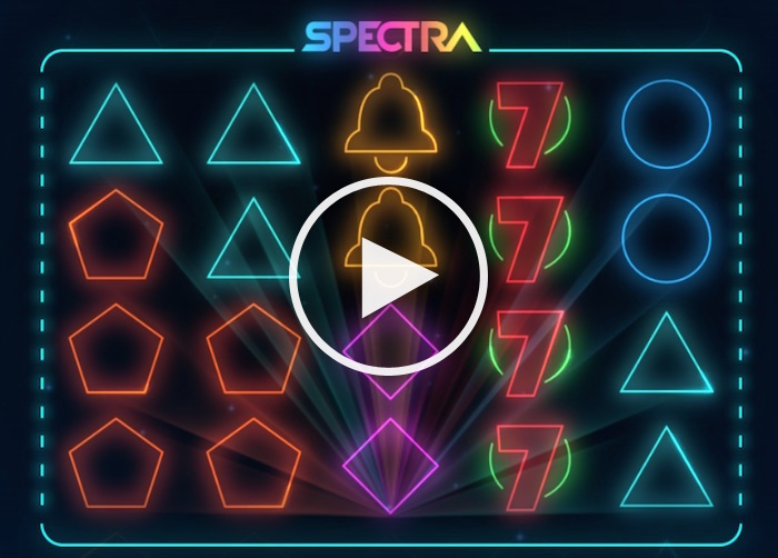 Gameplay Screenshot Thunderkick Spectra Slot