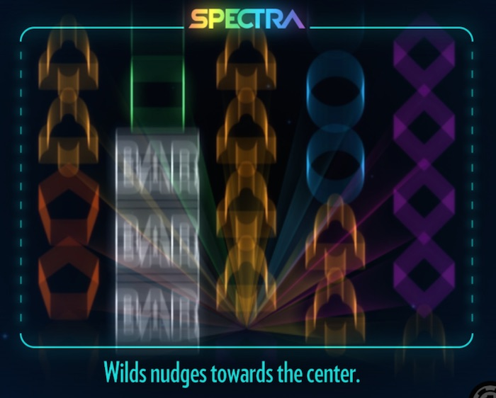 Graphics Screenshot Thunderkick Spectra Slot