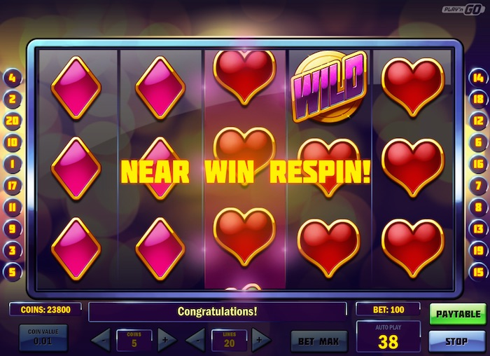 Play N Go Super Flip Free Spins Feature