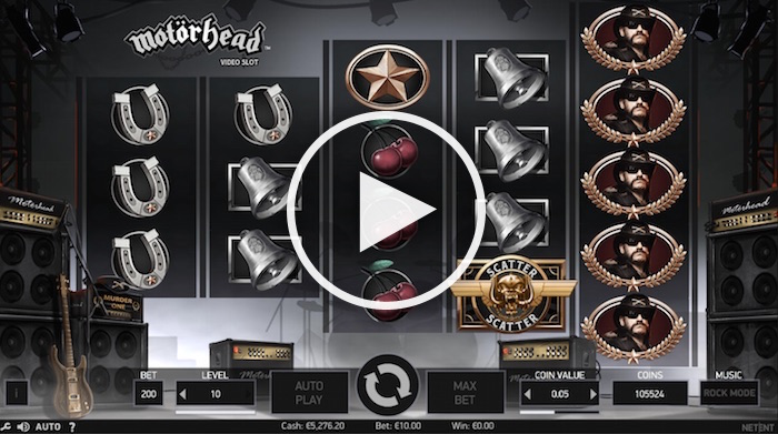 Motorhead Slots - Read our Review of this NetEnt Casino Game