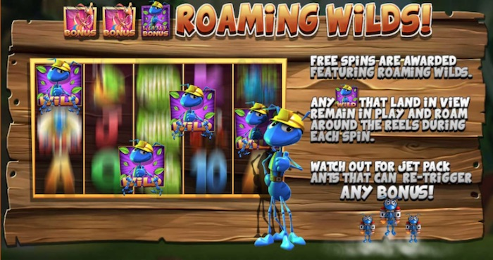 Roaming Wilds Feature in Wild Antics