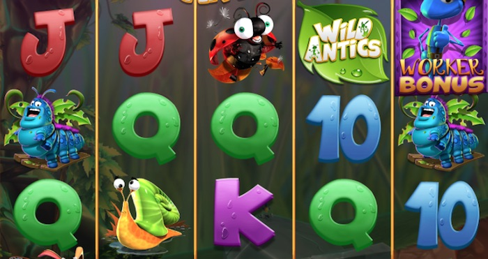 Graphics Screenshot Wild Antics Slot Review
