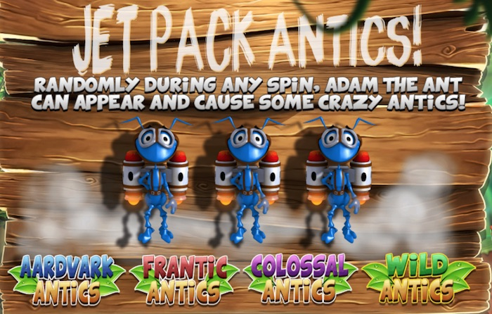 Jet Pack Antics Bonus Rounds