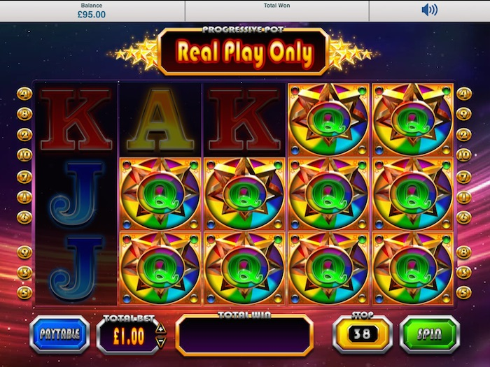 Winstar™ Slot Machine Game to Play Free in BluePrint Gamings Online Casinos