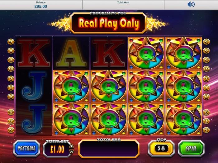 Blueprint Gaming Winstar Slot Review Screenshot