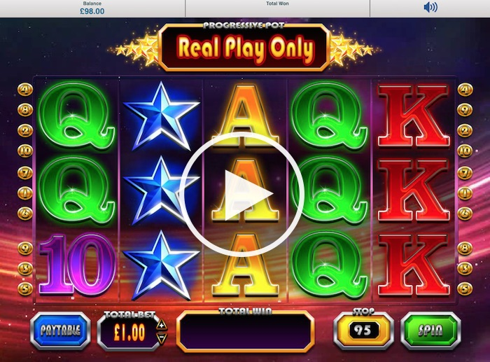 Screenshot of Winstar Online Slot
