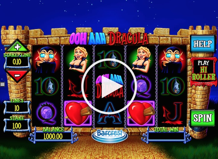 Screenshot of Ooh Aah Dracula Online Slot