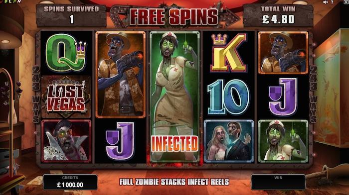 Lost Vegas Slot Free Spins Bonus
