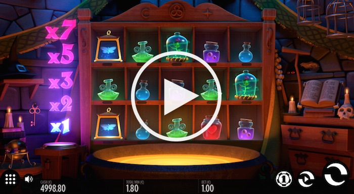 Screenshot of Frog Grog Online Slot