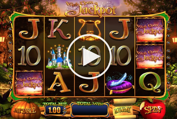 Play Wish Upon a Jackpot Slot at Touch Mobile Casino