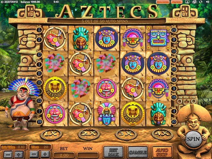 Gameplay Graphics in Cozy Games Aztecs Slot Game