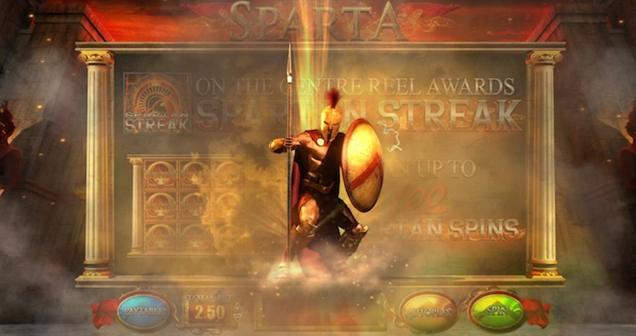 Graphics Screenshot Fortunes of Sparta Slot