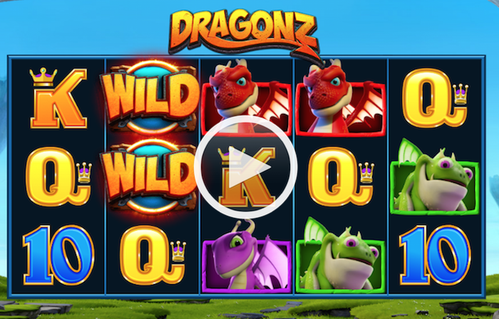 Screenshot of Dragonz Online Slot