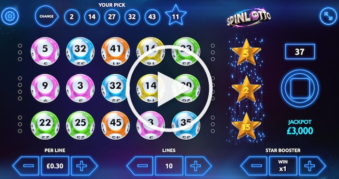 Spinlotto Gameplay Screenshot