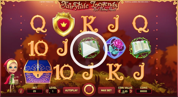 Main Game Screenshot Fairytale Legends Red Riding Hood Online Slot