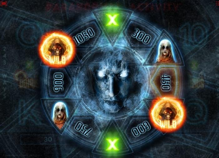 Free Spins Bonus for Paranormal Activity Slot