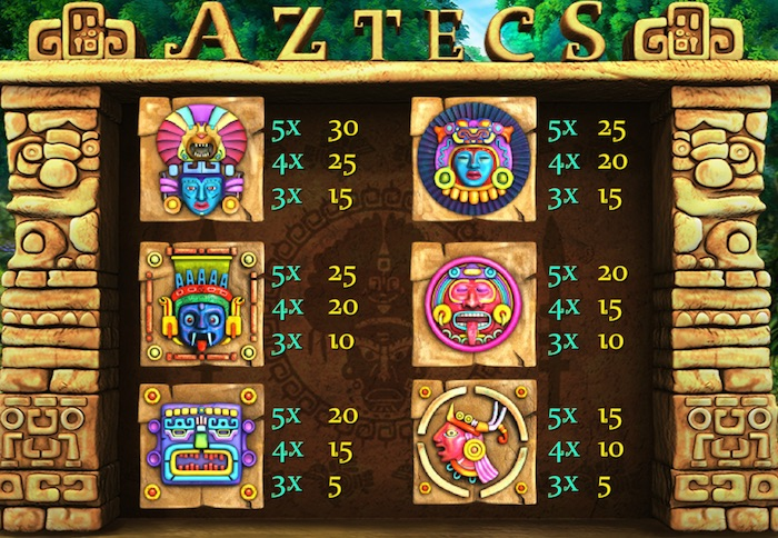 Real Money Paytable Cozy Games Aztecs