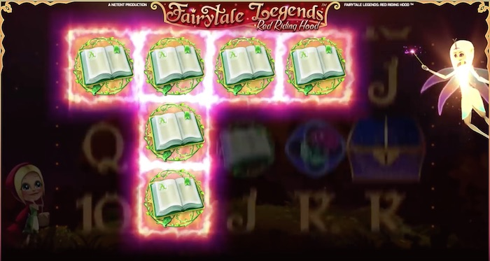 Surprise Fairy Bonus is a Main Feature in Fairytale Legends Red Riding Hood Slot