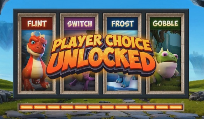 Players Choice Feature Microgamings Dragonz Slot