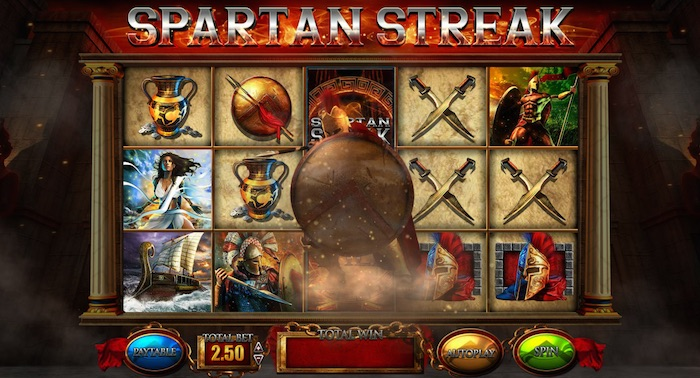 Fortunes of Sparta Features the Spartan Streak Bonus