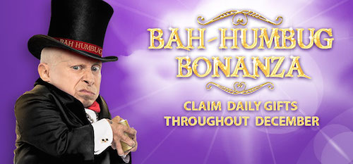 bgo Casino daily gifts in Bah Humbug Bonanza