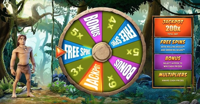 Free Spins Bonus Wheel