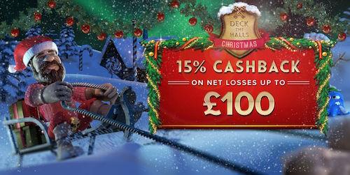 Prospect Hall Casino Deck the Halls Christmas Bonuses