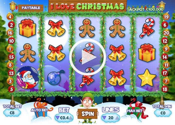 I Love Christmas Slots Game Review Screenshot