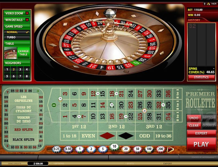 Mad About Slots Premier Roulette Screenshot