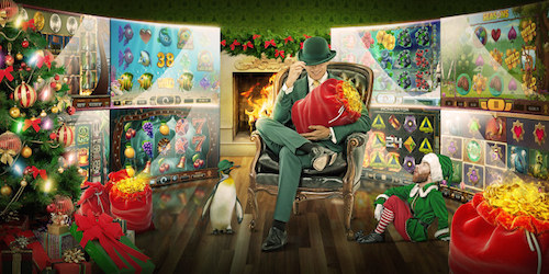 Get Christmas Bonuses every day with Mr Green Casino Calendar