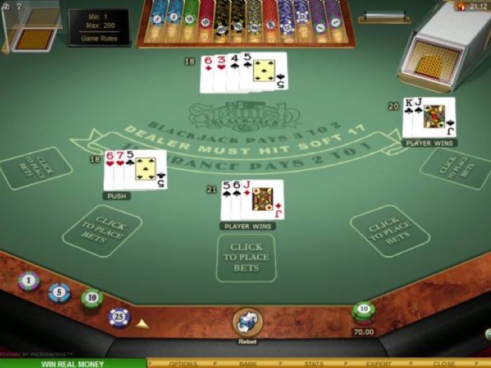Microgaming Spanish Blackjack