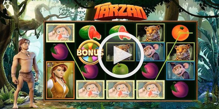 Screenshot of Tarzan Online Slot