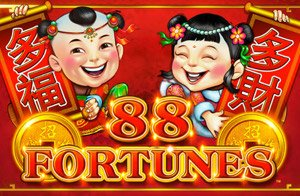 88 Fourtunes Slot Logo