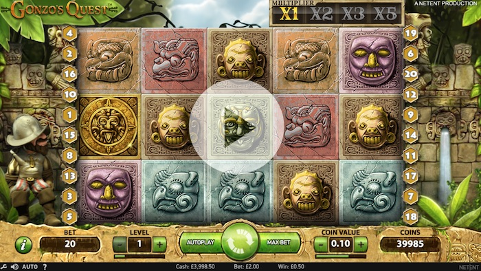 Free Spins on Gonzos Quest at Zinger Spins