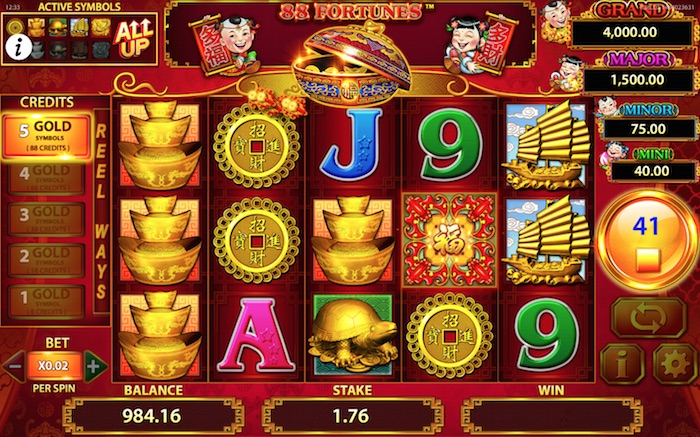 Fortune 88 Slot Review & Free Online Demo Game