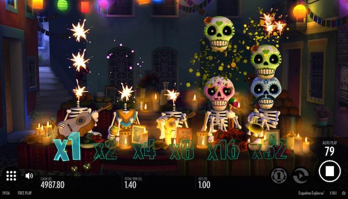 Online Slot Esqueleto Explosivo