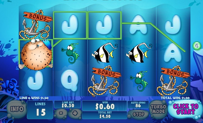 Play Wacky Waters Online Slots at Casino.com NZ