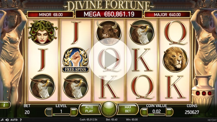NetEnt Divine Fortune Slot Game