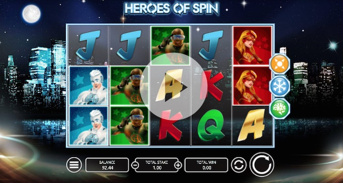 Heroes of Spin Online Slot