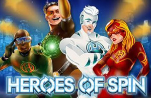 Heroes of Spin Slot