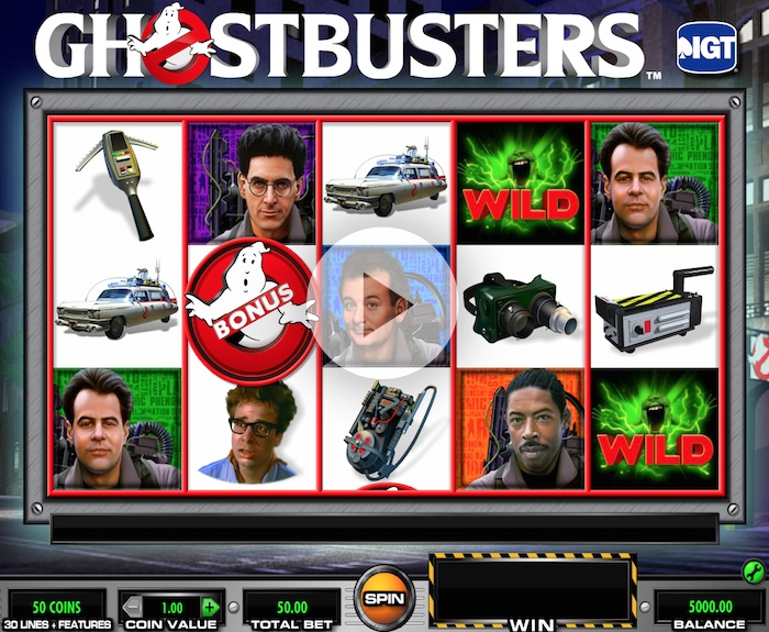 Ghostbusters Online Slot at Virgingames.com