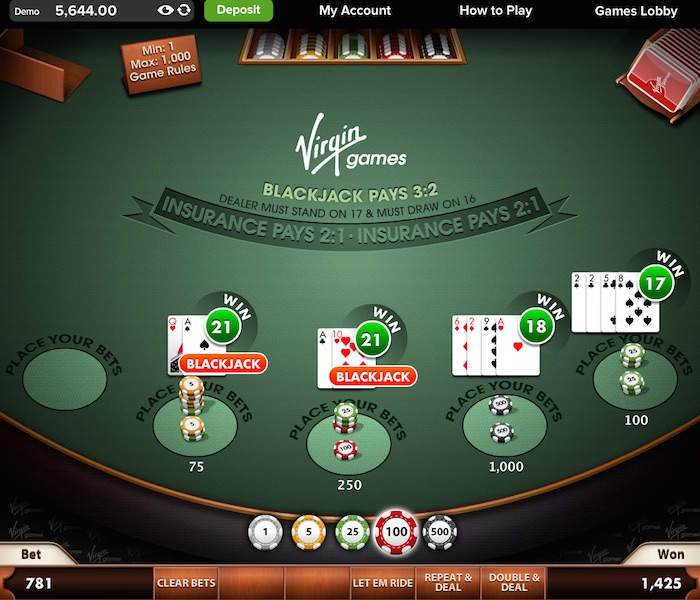 Play Black Jack Tables for Real Money