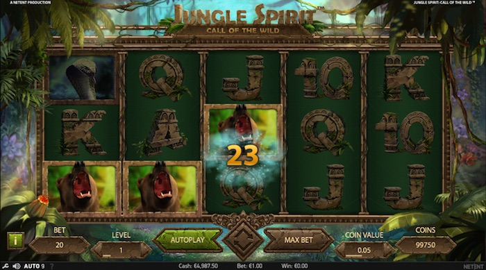 Netent Jungle Spirit Slot