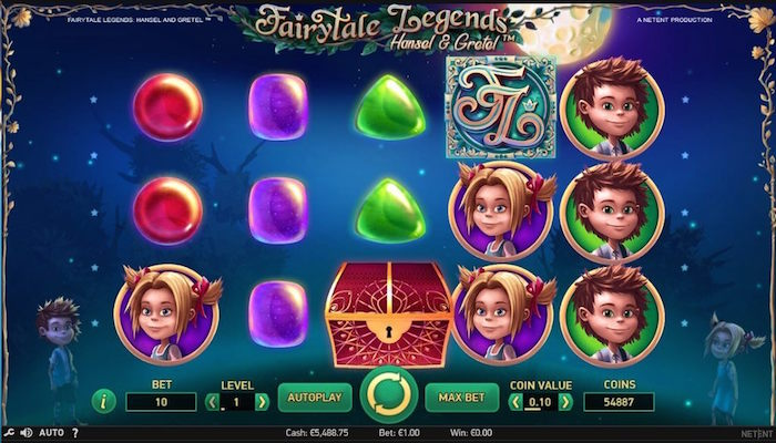 NetEnt Hansel and Gretel Slot Review