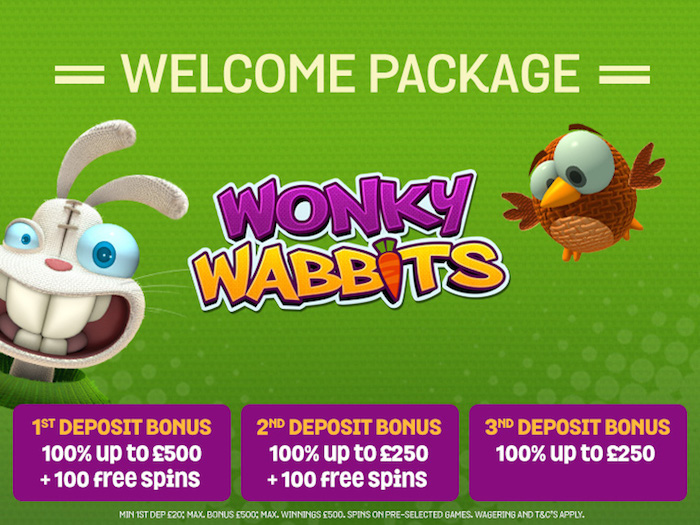 Spin and Win Casino Easter Wonky Rabbits Slot