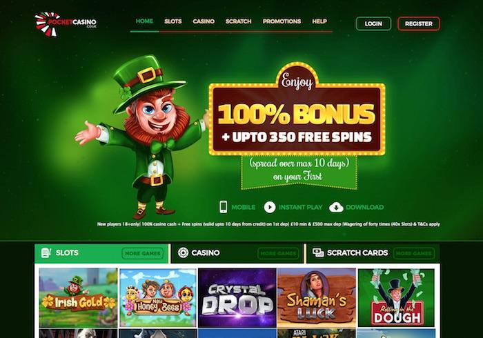Pocket Mobile Casino Review and UK Bonuses
