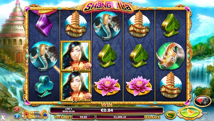 Play Shangri La Slot at Vera and John Casino
