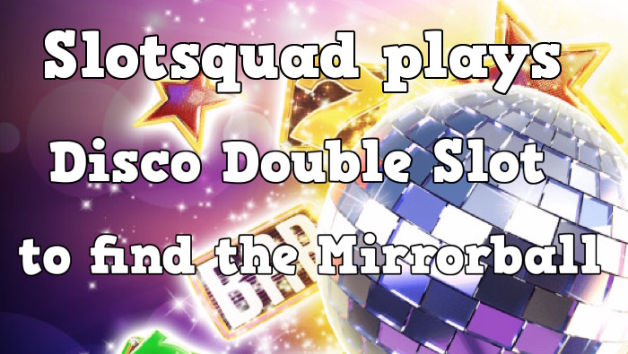 Disco Double Exclusive Slot at vera&john Casino